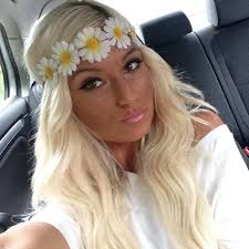 hippy headband 14 best flowers crowns images on flower headbands