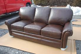 hancock and moore leather sofa hancock moore 9840 city sofa in town country cavalier mocha
