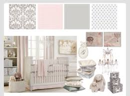 baby nursery ideas pink grey and white theme pink and grey