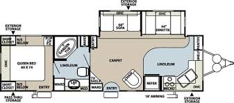 Rockwood Trailers Floor Plans 2008 Forest River Rockwood Signature Ultra Lite 8315ss Travel