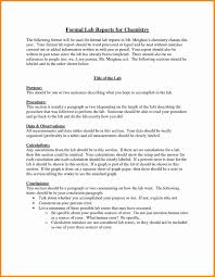 lab report template chemistry lab report template template