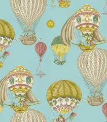 Waverly Home Decor Fabric Home Decor Print Fabric Waverly Aerial Adventure Creme De Menthe