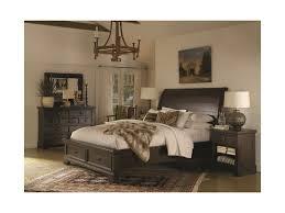 Burlington Bedroom Furniture by Highland Court Burlington King Sleigh Bed With Under Bed Storage