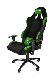 Pc Gaming Desk Chair by Akracing K7012 Gaming Chair Black Green
