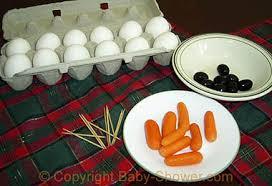 Penguin Baby Shower Decorations How To Make Egg Penguins Mice U0026 Other Egg Decorations
