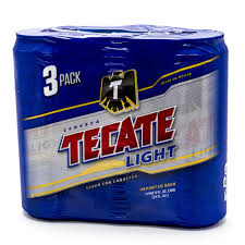 Case Of Bud Light Price Tecate Light Beer 24oz Can 3 Pack Beer Wine And Liquor