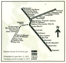 Bart Lines Map by A Fascinating Look At How The Bart Map Has Changed Over The Years