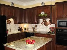 Kitchens That Arent White - Dark wood kitchen cabinets