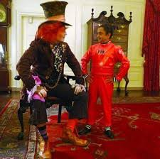 obamas u0027 secret alice wonderland themed halloween party