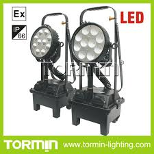 explosion proof led work light china 24v rechargeable led explosion proof portable work light