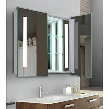 Lighted Bathroom Medicine Cabinets by Kohler Verdera Medicine Cabinet Sharp Modern Kitchen With L Shape