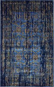 Renaissance Rug Blue 5 U0027 X 8 U0027 Renaissance Rug Area Rugs Rugs Ca