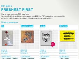 design magazine online 10 free online magazine for designers mytemplatez