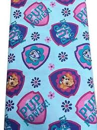 paw patrol blue background skye u0026 everest cotton fabric