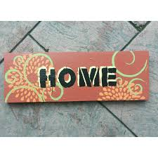 eco friendly home decor upcycled home decor primitive wooden sign sedona red painted