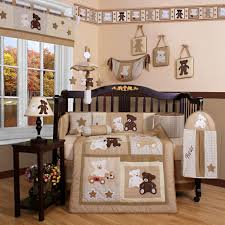 Wooden Nursery Decor Nursery Decor White Crib Boy Accessories Wooden Baby