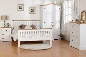 White Distressed Bedroom Furniture Seconique White Corona Farm House Bedroom Furniture White Waxed
