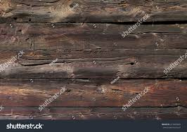 wall made out wood rundown stock photo 212405260