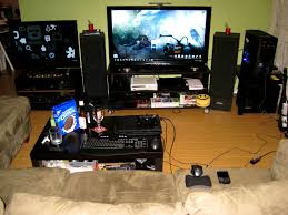 bedroom enchanting calm wall paint and cool game item facing