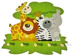 porte manteau mural pour chambre bébé porte manteau mural en bois pour chambre d enfant animaux fait