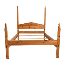 Four Poster Bed Frame Queen by 38 Off Pine Four Poster Queen Bed Frame Beds