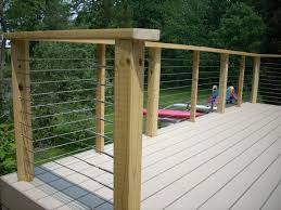 How To Build A Banister How To Make Deck Railing Deck Building Installing Deck Railing