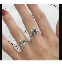 circle engagement ring vs oval diamond faceoff jewelry engagement rings