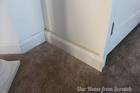 kitchen cabinet baseboards how to add trim to cabinets