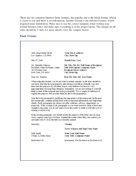 Business Letter Block Format by Business Letter With Two Signatures The Best Letter Sample