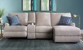 Sectional Loveseat Sofa Alton Power Reclining Sectional Sofa With Chaise The Dump