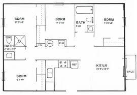 floor plans for a 4 bedroom house simple 4 bedroom floor plan home ideas decor