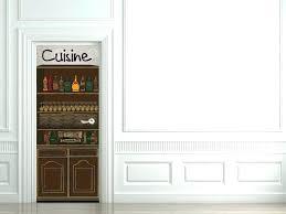 sticker porte cuisine stickers porte cuisine photos de design d intérieur et