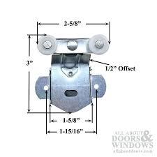 Closet Door Roller Closet Door Rollers Discontinued Sterling Hardware 2 Wheel Sliding