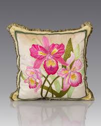 strongwater pillows strongwater orchid pillow 20 sq floral interior