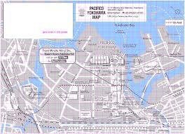 Grid Map Minato Mirai Area Grid Map
