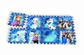 tappeto puzzle disney frozen tappeto gioco puzzle 8 tessere