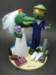 gamer cake topper halo s master chief wedding cake topper alberta alligator