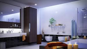 how to decorate a large bathroom for better function and style