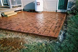 Stamped Concrete Patio Maintenance Stampcrete Photos