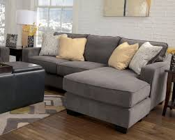 grey fabric modern living room sectional sofa w wooden legs marble contemporary sofa chaise living room furniture fabric modern