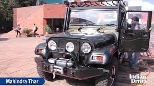 indian jeep mahindra 2012 mahindra thar a c first look video youtube