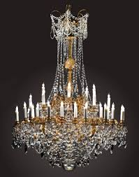 Antique Baccarat Chandelier Antique Early 19th Century Ormulu Bronze And Baccarat