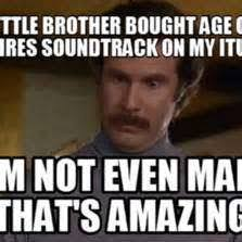 Brother Birthday Meme - little brother birthday good quotes word