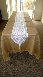 Burlap Lace Table Runner Lace Table Runners Your Fabric Source Wholesale Fabric Online