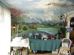 Hand Made Kitchen Dining Room Mural Floor To Ceiling By Murals By - Dining room mural