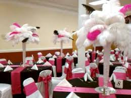 ostrich feather centerpieces ostrich feather centerpieces by feathers by angel