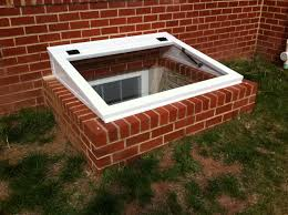 adapter cover for existing window wells can be brick concrete