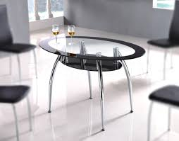 oval glass dining room table interiors design