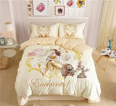 bedding and home decor disney beauty and the beast belle princess bedding sets for girls