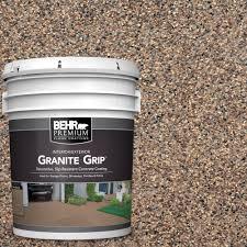behr premium 5 gal gg 15 amethyst decorative concrete floor